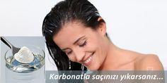 Saçları güçlendirmek için karbonatla saç yıkama yöntemini mutlaka deneyin...