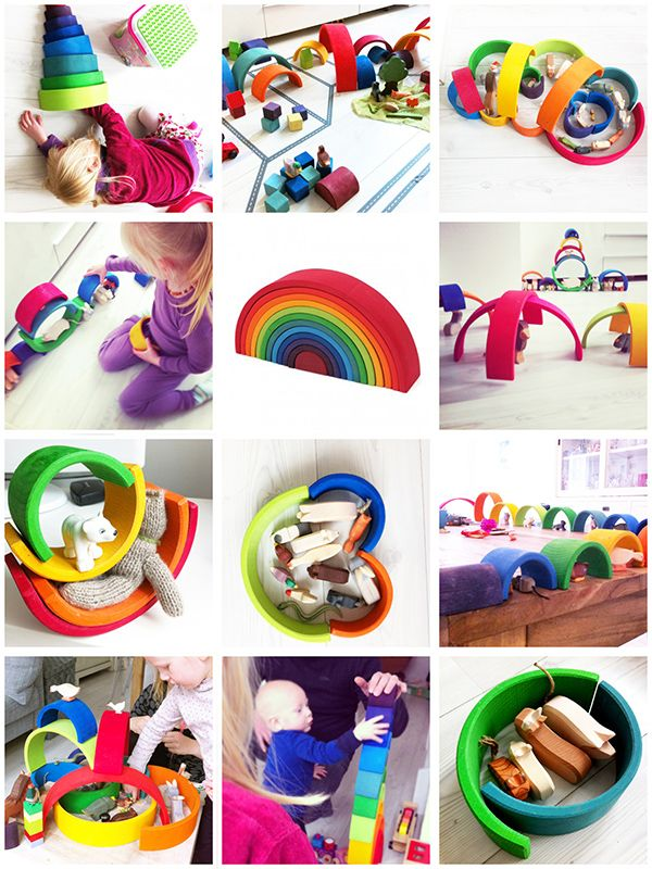 regenboog : ) wondered how to be creative with these