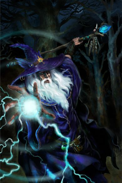 #Wizard - #fantasy #art (Artist unknown. If you know who painted this, please let me know so I can attribute the picture)