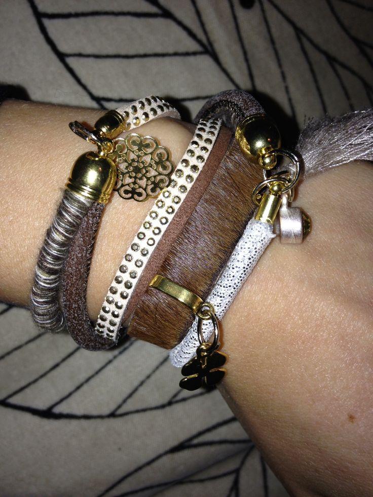 Golden bracelet for a friend ✨