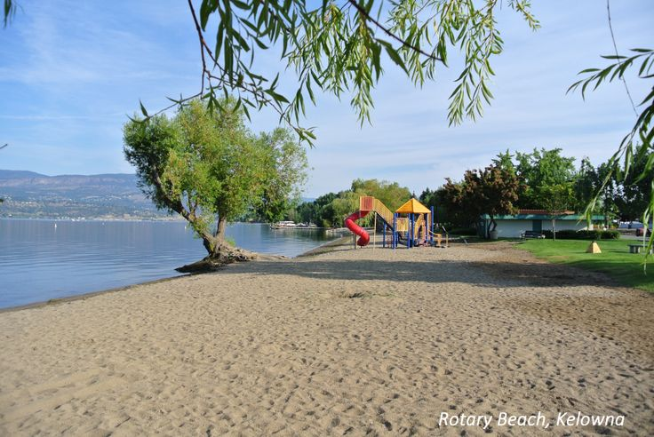 Rotary Beach in Kelowna, BC