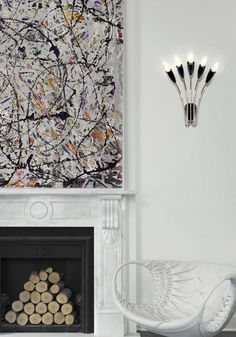 Dazzling Design Projects from Lighting Genius DelightFULL   http://www.delightfull.eu/usa/. Mid-century modern lighting: chandeliers, pendant lights, wall lights, floor lamps, table lamps. Ready-to-ship list- lead time of 1-2 weeks! Modern home lighting, luxury decor, interior design trends.