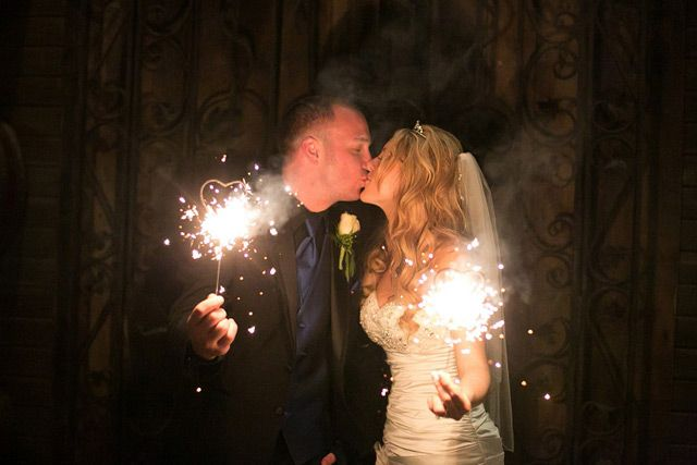 heart shaped sparklers we ♥ this! moncheribridals.com