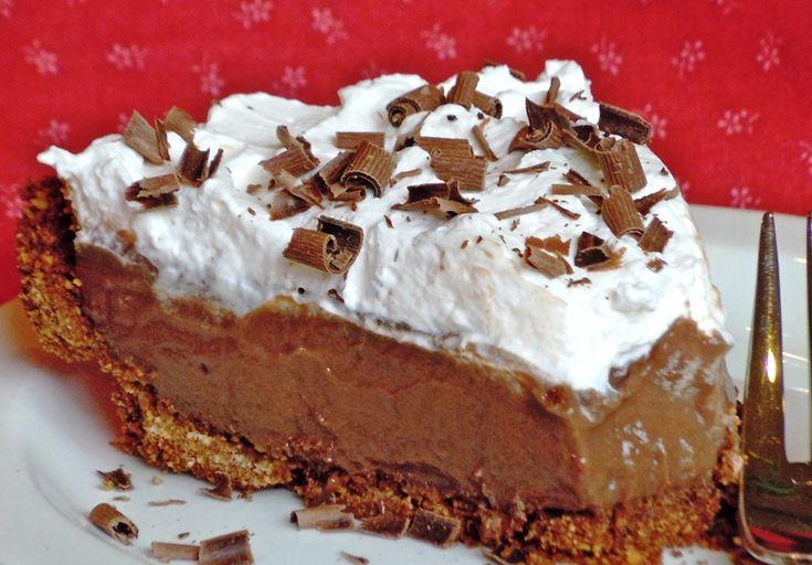 Heerlike Sjokolade-Fudgeroomtert.