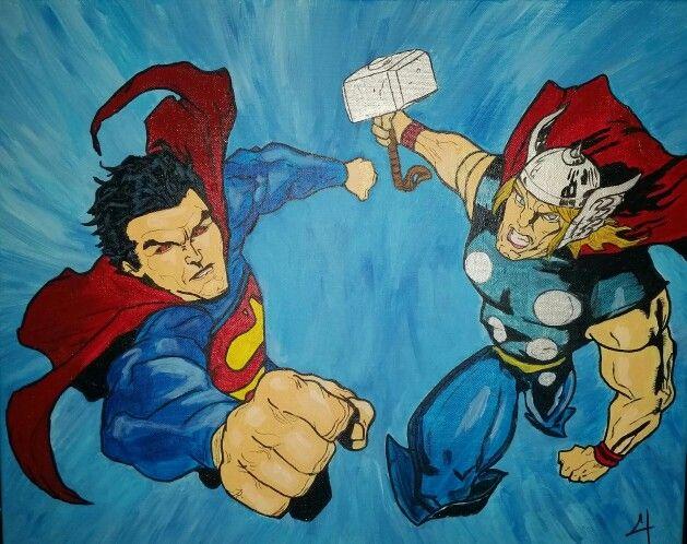 Superman n thor