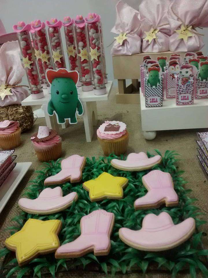 Sheriff Callie birthday party cookies! See more party planning ideas at CatchMyParty.com!