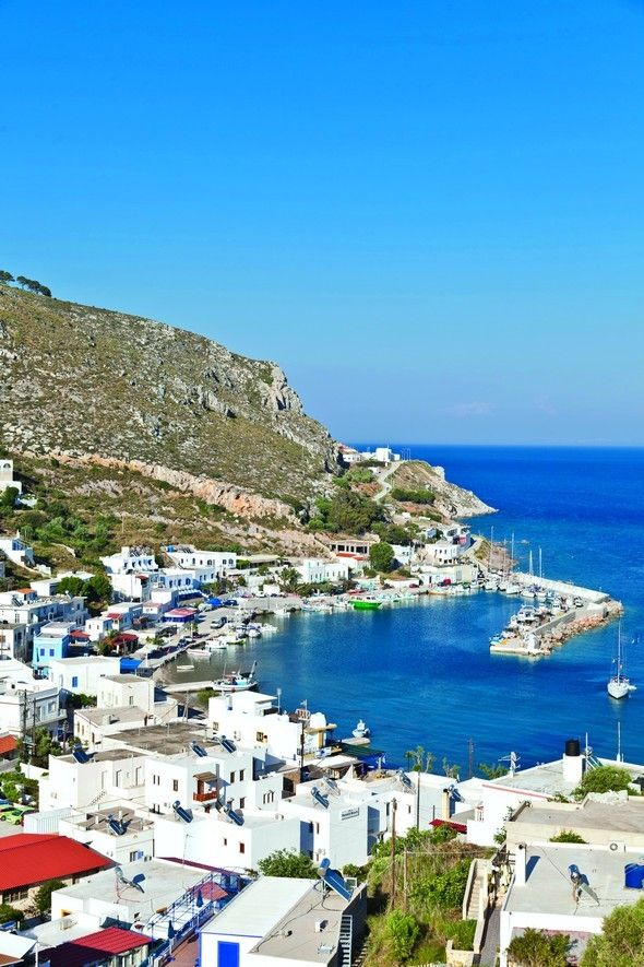 Leros island, Greece Always and always the colour of sky, clouds and achingly beautiful clear blue waters Add a burst of vibrant colour and you know it is Greece.