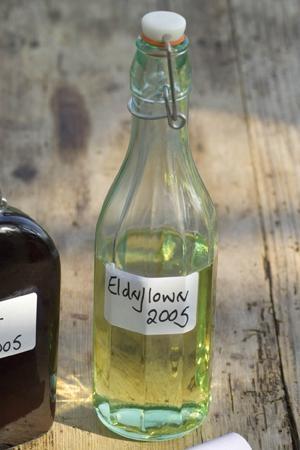 Glass Bottle - from sarah raven's kitchen & garden