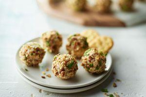 Turkey Bacon Cheese Balls   #JennieO #SwitchToTurkey