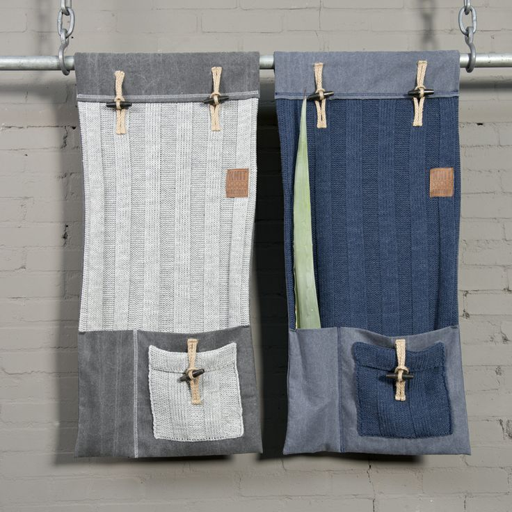 zawieszane kieszenie Knit Factory