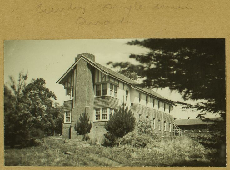 Sunbury Mental Hospital, Single Mens Quarters, 1939