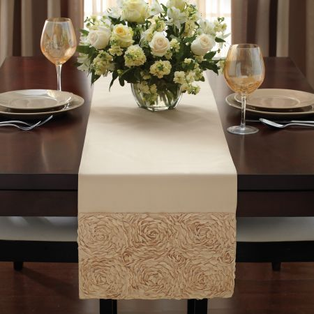 Wonderful The Croscill Mariage Table Runner Is An Easy And Elegant Way To Make Your  Table Ready