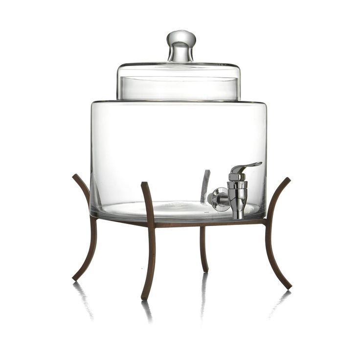 best 25 glass beverage dispenser ideas on pinterest country party decorations country. Black Bedroom Furniture Sets. Home Design Ideas