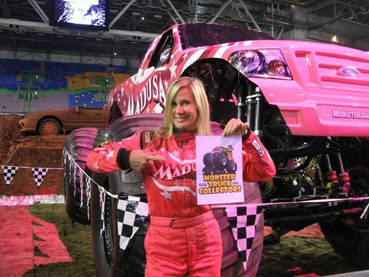 Ausmalbild Madusa Monster Truck: Womens Pro Wrestling January 2007