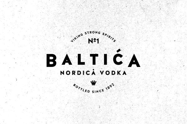 Unique Logo Design, Baltića #Logo #Design (http://www.pinterest.com/aldenchong/)