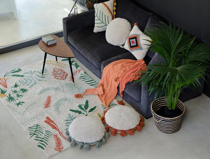 NEW Cushion Circle Terracota #washablecushions #lorenacanals #cushionsb #accesories