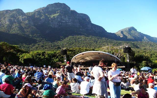 Die berühmten Summer Concerts in den Botanischen Gärten von Kirstenbosch, finden vom 25. November 2012 bis zum 7. April 2013 jeden Sonntag statt.