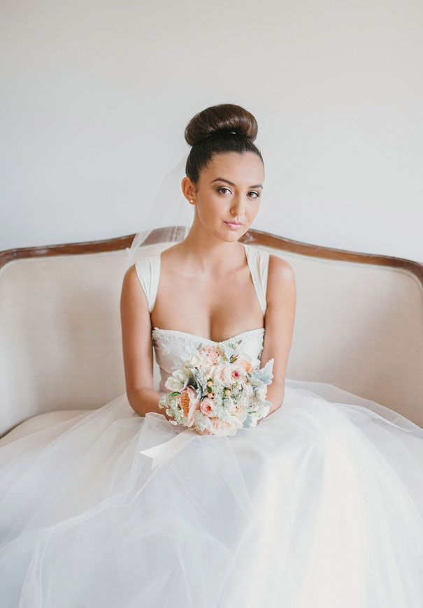 Glamorous French Country Provincial Inspiration Sweet Rustic Wedding Dress