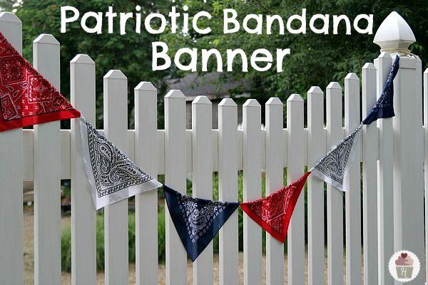 Patriotic-Bandana-Banner.HoosierHomemade.com