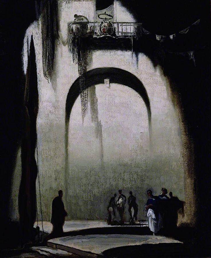 The Unknown Corner (James Ferrier Pryde - )
