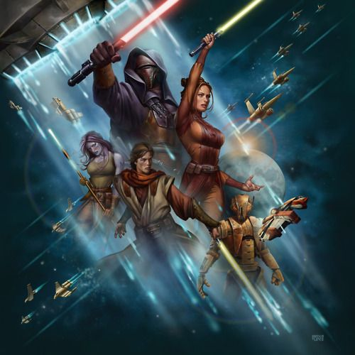 Knights of the Old Republic by Gonzalo Flores