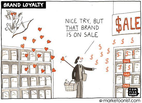 brand loyalty - Tom Fishburne
