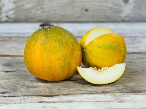 Melons ripen to yellowish-gold; the white flesh has a very high sugar content. Collective Farm Woman Melon is a superb...