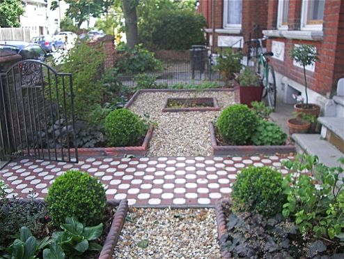 Edwardian front garden google search home pinterest Modern front garden ideas uk