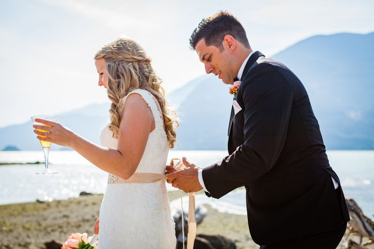 Bride and Groom. Cheers to being married. Celebration of marriage. Summer wedding. Squamish wedding. Sea to Sky highway.