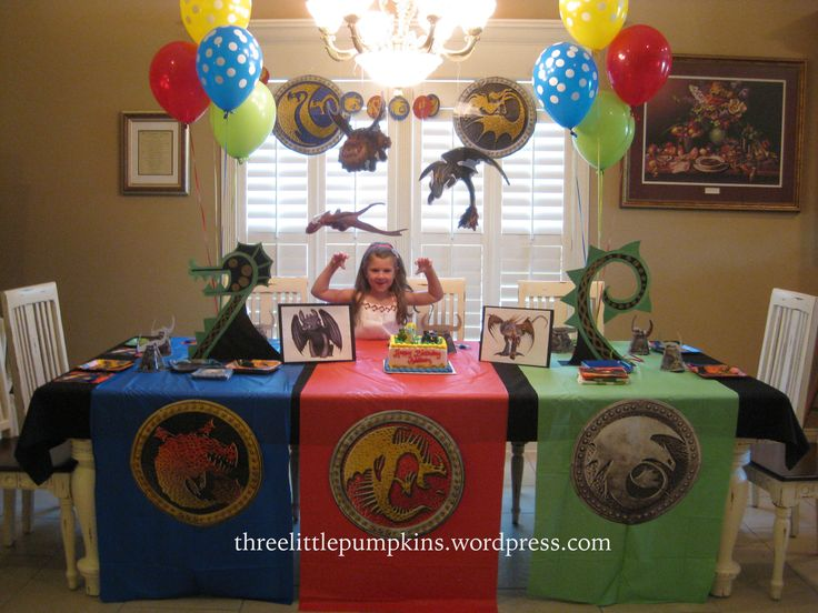 How To Train Your Dragon Party | Three Little Pumpkins