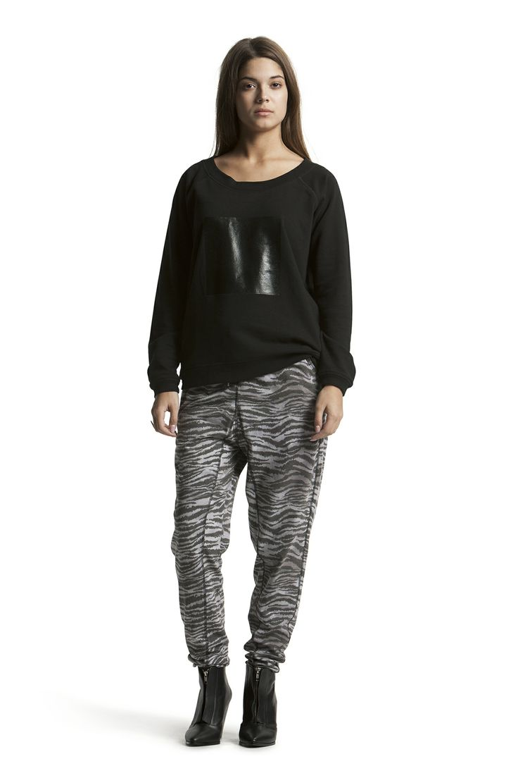 Domino sweat with Delphine Jersey Pant