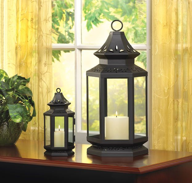 Go to this website - they have a bunch of lanterns for cheap prices - they have a cool lighthouse one.