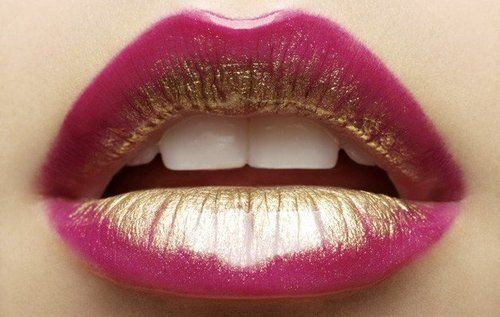 two tone lips