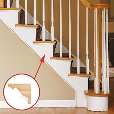 Good How To Add Shapely Stair Brackets