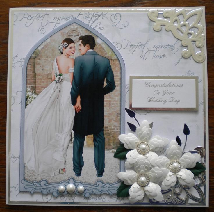 Made using Debbi Moores Wedding CD