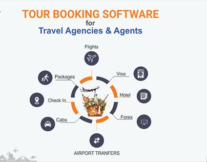 "Check out new work on my @Behance portfolio: ""Travel Booking Software 