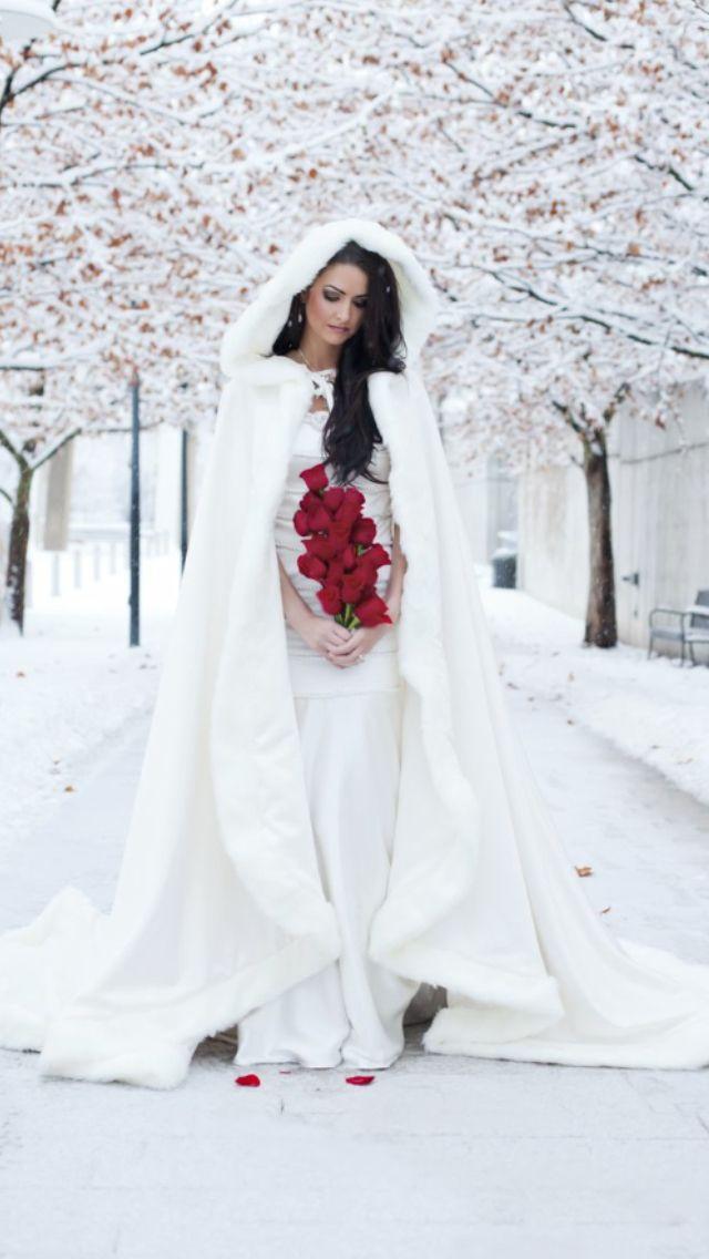 Nicole Hansen Winter Bride