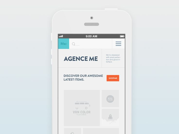 Search Responsive / Agence Me