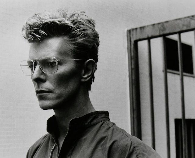 David Bowie photographed by Helmut Newton