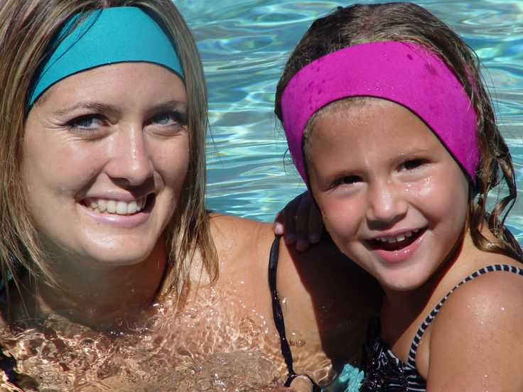 The best swimming headbands and swimming ear plugs. Block water with Ear Band-It and Putty Buddies. Doctor recommended for ear tubes and infection.