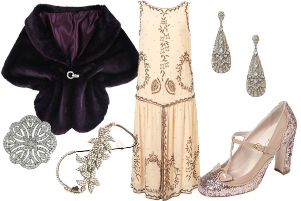 finds for a Daisy Buchanan costume ♦ I wish I could wear this for Halloween—or anytime!