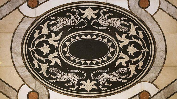 Hotel Mosaic Artwork - Sheraton Pretoria Hotel