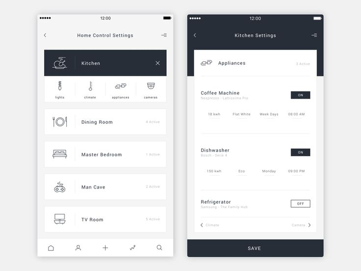 Daily UI - 007 - Settings by Neal Hampton