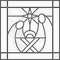 Best 25 canvas silhouette ideas only on pinterest for Christmas stained glass window templates