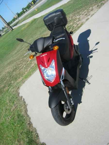 Used 2009 Kymco Agility 125 Motorcycles For Sale in Iowa,IA. 2009 KYMCO Agility 125, KYMCO Agility 125 Man, you've got to get one of these. Take charge of your life and show the world you're an individual. Toss aside the skateboard, get on an Agility 125 and just ride. With a strong 125cc four-stroke engine and KYMCO's fully automatic CVT transmission, riding is hassle free. Just twist the throttle and go! Economical to purchase, gas up and maintain, the KYMCO will run just about forever…