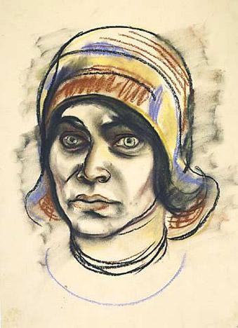 Elfriede Lohse-Wächtler Self-Portrait with Hat