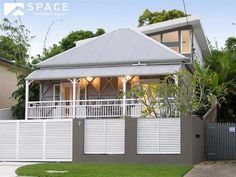 modern roof extension on queenslander - Google Search