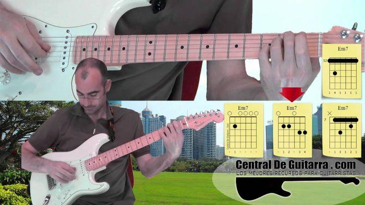 Es este vídeo explico como podemos tocar el acorde de Mi menor séptima en la guitarra, empezando por la posición más fácil para principiantes y alguna forma ...