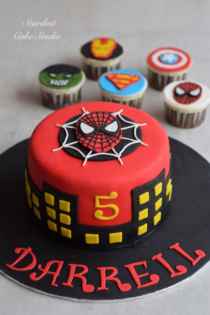 Spider-Man Cake                                                                                                                                                                                 More
