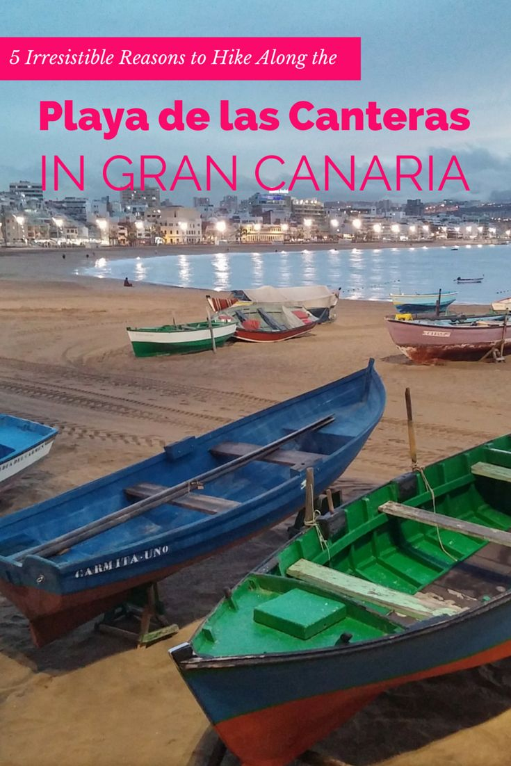 You haven´t been in Gran Canaria if you miss out on a walk along the Playa de las Canteras (Las Canteras Beach) and La Isleta (which is about 8km).